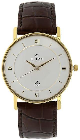 Titan NK9162YL01 Men White - Analog Watch