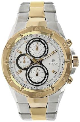 Titan NK9308BM01 Men Chronograph Watches