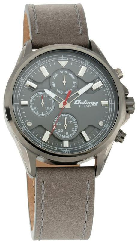 Titan Octane 90107QL01 Multifunction Watch For Men by Titan Company