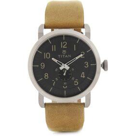 Titan  90025Sl01 Men Chronograph Watch