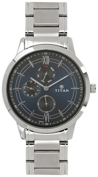 Titan 1769SM01 Men Blue - Analog Watch