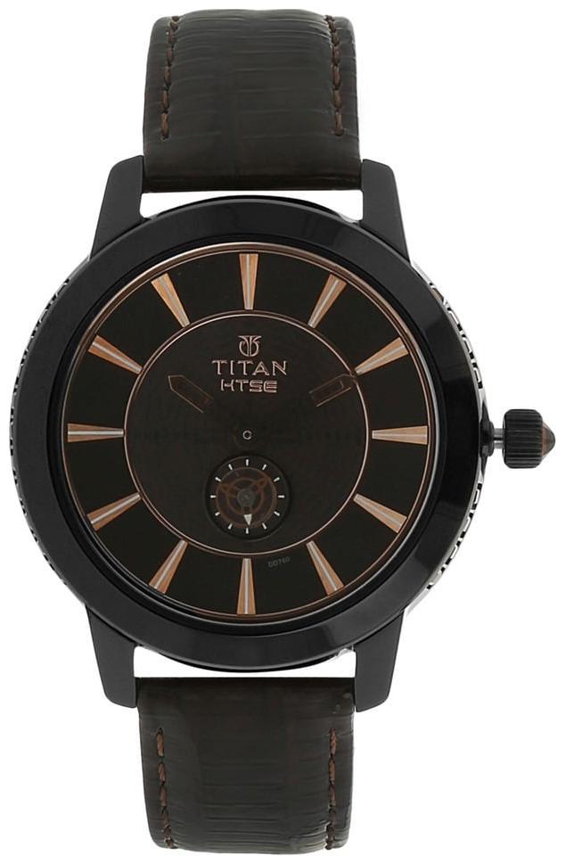 Titan 2523NL01 Women Black Analog Watch by Titan Company