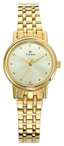 TITAN WOMEN ANALOG WATCH