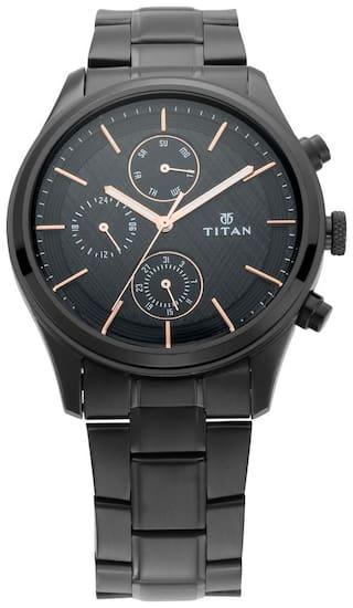 Titan NM1805NM01 Men Black - Analog Watch