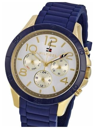 3e9f9b29 Tommy Hilfiger Women's 1781523 Sophisticated Sport Analog Display Quartz  Blue Watch