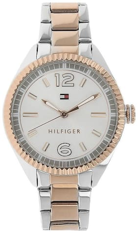 Tommy Hilfiger Women's Rose Gold/ Silver Stainless-steel Analog Quartz Watch-th1781148j