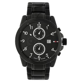 e6e290c6f0effe Buy Tommy Hilfiger TH1790961 Black Round Chronograph Watch-TH1790961 Online  at Low Prices in India - Paytmmall.com