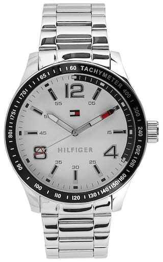 3ee63ba3d43a Buy Tommy Hilfiger Round Analog White Dial Mens Watch - TH1791177 ...
