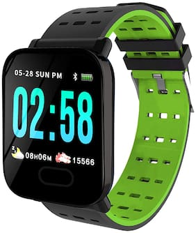 Toreto TOR 83_BLK/Orng Activity Tracker Bluetooth - Black Green
