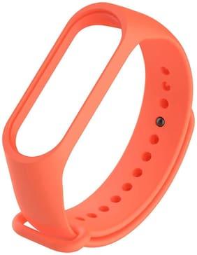 TOTU Smart Fitness Sport Watch Band Replacement Silicone Sports Soft Wrist Strap Bracelet Wristband for XIAOMI Mi Band 3 Straps Bracelets for Mi3 {Not for Mi1/2} Orange