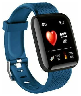 Touch Screen Smart Watch Heart Rate Blood Pressure Bracelet Fitness Tracker