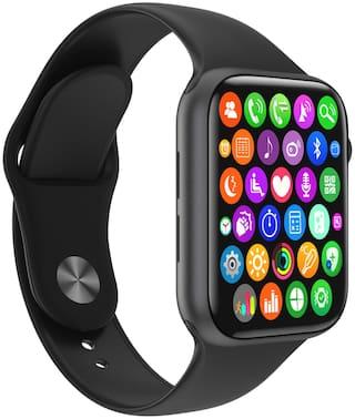 TSV W26 Plus Unisex 42 mm Black Smart Watch