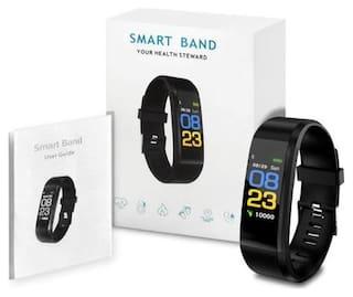 TSV ID115 Plus HR Smart Bracelet Color Screen Pedometer Heart Rate Monitor Sleep Monitor Fitness Tracker
