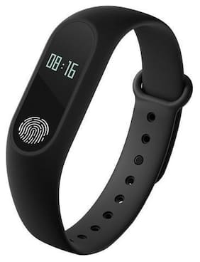 TSV M2 Smart Fitness Band - Compatible With All Android Devices Black