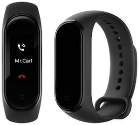 TSV M4  Fitness Band With Tracker And Heart Rate Sensor Bluetooth Smart Bracelet Band