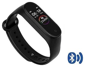 TSV M4  Fitness Tracker Heart Rate Monitoring Band Compatible With Redmi Devices