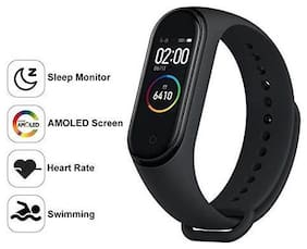 TSV  MI Note 2 CompatibleM4  Smart fitness Band With Heart Rate Sensor/Pedometer/Sleep Monitoring Functions