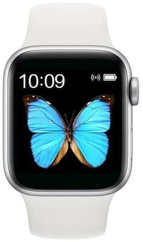 Unisex White Smart Watch