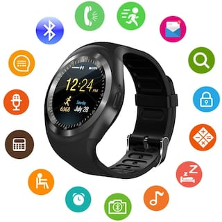 TSV Y1 Bluetooth Smartwatch With Sim & TF Card Support For Android iOS Mobile Phones