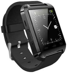 U8 Watch Bluetooth Smart Wrist Watch Phone Compatible with samsung Galaxy A7 (Black) Display By TSV