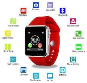 UFIT W Red Mobile Smart Watch