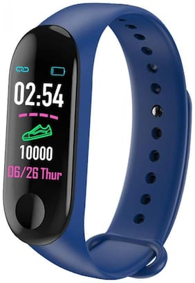 UnTech M3 Band with Activity Tracker Heart Rate Monitor OLED Display for Android and iOS (