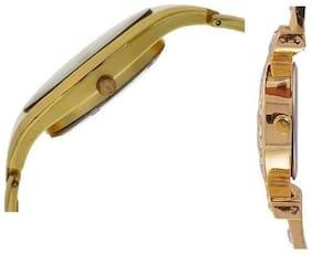 Varni Retail Full Gold Women And AKS Golden Diamond Combo Girls Watch For Women