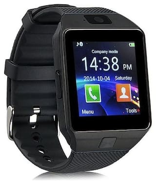 VB Trade DZ09 Smart Watch Accessories with Camera;Touch Screen;Sim Card & SD Card Support for Smartphones