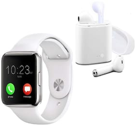 VB Trade Smartwatches Phonewatch with Free Bluetooth Earphone