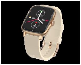 Unisex Gold Smart Watch