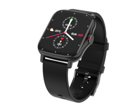 VIKYUVI VIKFIT MAX Full Touch Smart Watch with 1.69 inch Bezel Less Full Touch Display, HD Bluetooth Calling | All Day HR, BP, SpO2 | App Notification and Multi Sports Mode (Black)