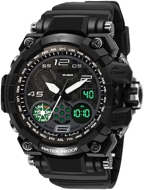 VILAM Black Analog-Digital Analog- Watch Watch - For Men