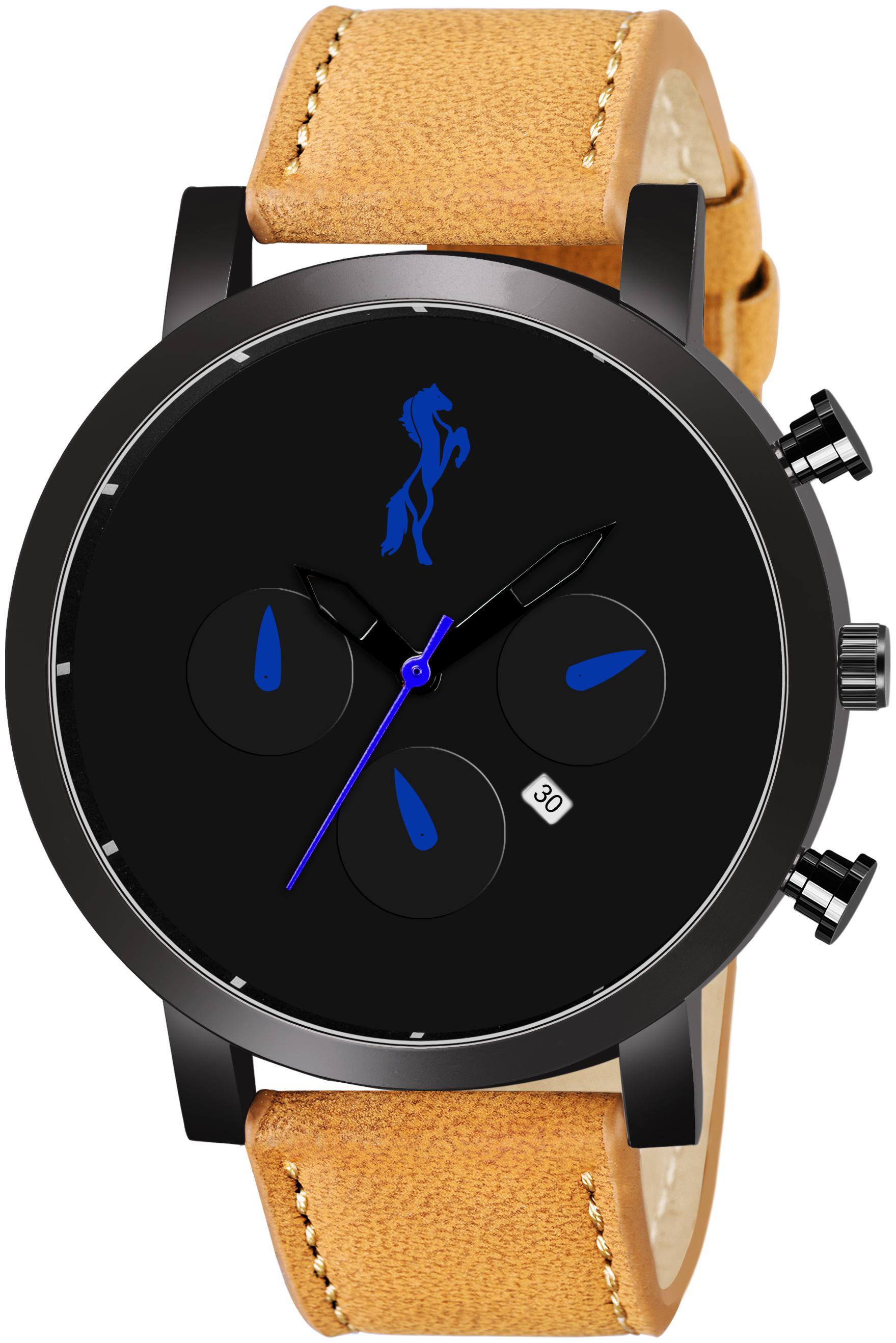 VILAM Men Black   Analog Watch by Toral Enterprise