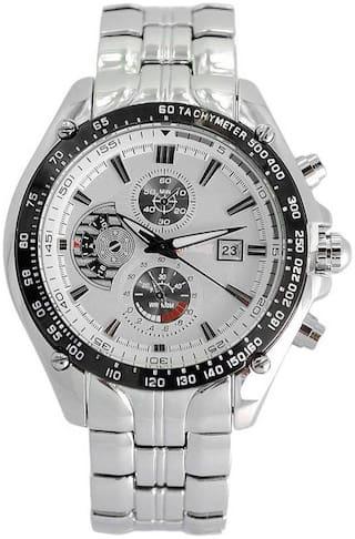 VILAM Men White - Chronograph Watch
