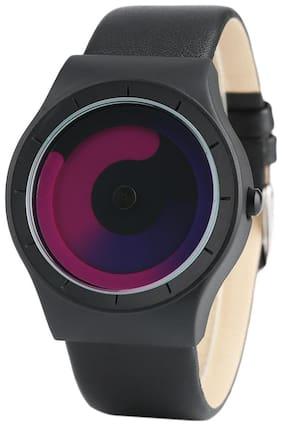 Unisex Purple Analog Watch