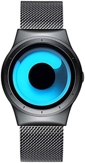 Unisex Blue Analog Watch