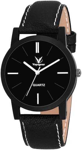 Voyageur Black Dial Analog Men's Wrist Watch (AF-VOGR-07)