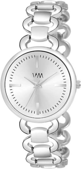 Women Silver Analog Watch