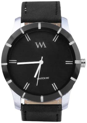 Watch Me Black Analog Watch (Pack Of 5)