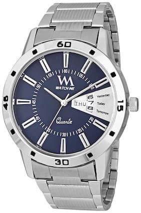 Men Blue Analog Watch