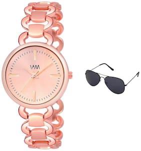 Women Rose Gold Analog Watch
