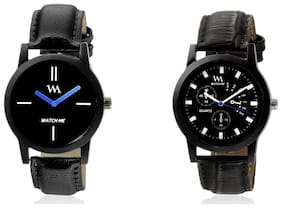 Watch Me Watches Analog Combo for Men and Boys rejg-wmc-002-003