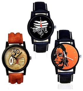 watchstar combo stylish watch for Men