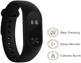 WATERPROOF M2 SMART FITNESS BAND WITH ACTIVITY TRACKER  HEART RATE MONITOR COMPATIBLE WITH ALL SMART PHONES