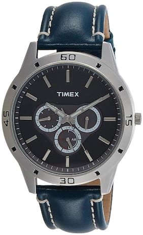 Timex Men'S Analogue Silver Dial Watch - Tw000X110