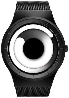 Unisex White Analog Watch