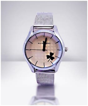 Women Analog Watch - Silver