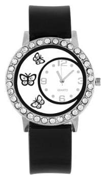 Women Fashion Black Color Dial Watch For Girls And Women