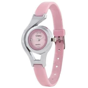 Women Glory pink analog Round dial Watches