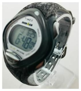 Women's Timex Mid Size Ironman Sleek 30 Grey  Resin Watch TW5M08600